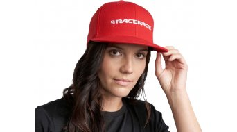 Race Face Classic Logo fitted Kappe Gr. S/M red