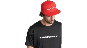 Race Face Classic logo fitted čepice red