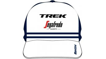 Santini Trek-Segafredo Team Lifestyle Hat Trucker-帽 均码 white