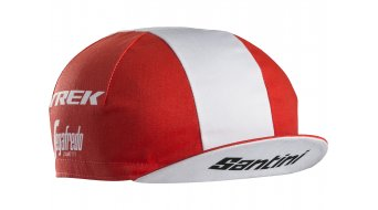 Santini Trek-Segafredo Team fietskappe unisize red model 2018