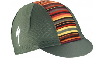 Specialized Cycling Cap Light Printed Stripes unisize military green