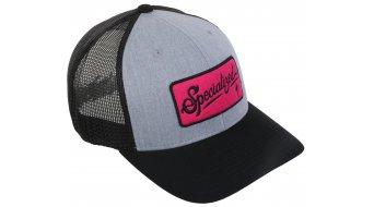 Specialized Flexfit Trucker Script Cap tamaño Unisize grey/negro/bright pink