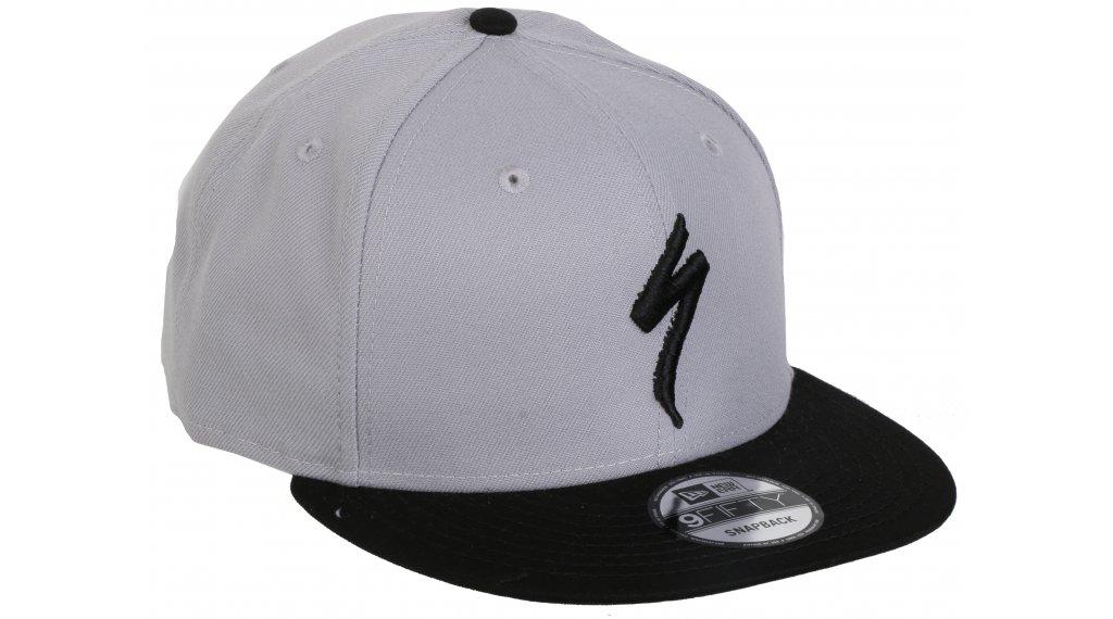 Specialized New Era Flat Brim S-logo Cap unisize light grey/black