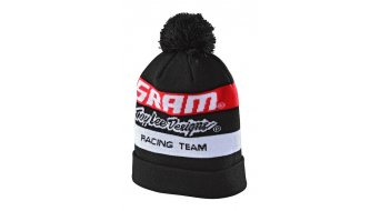 Troy Lee Designs Sram Racing Block Pom Beanie cap unisize black