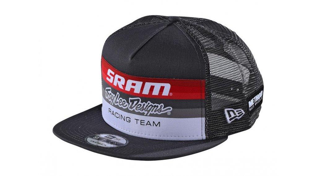 Troy Lee Designs Sram Racing Block Snapback Kappe Gr. unisize charcoal