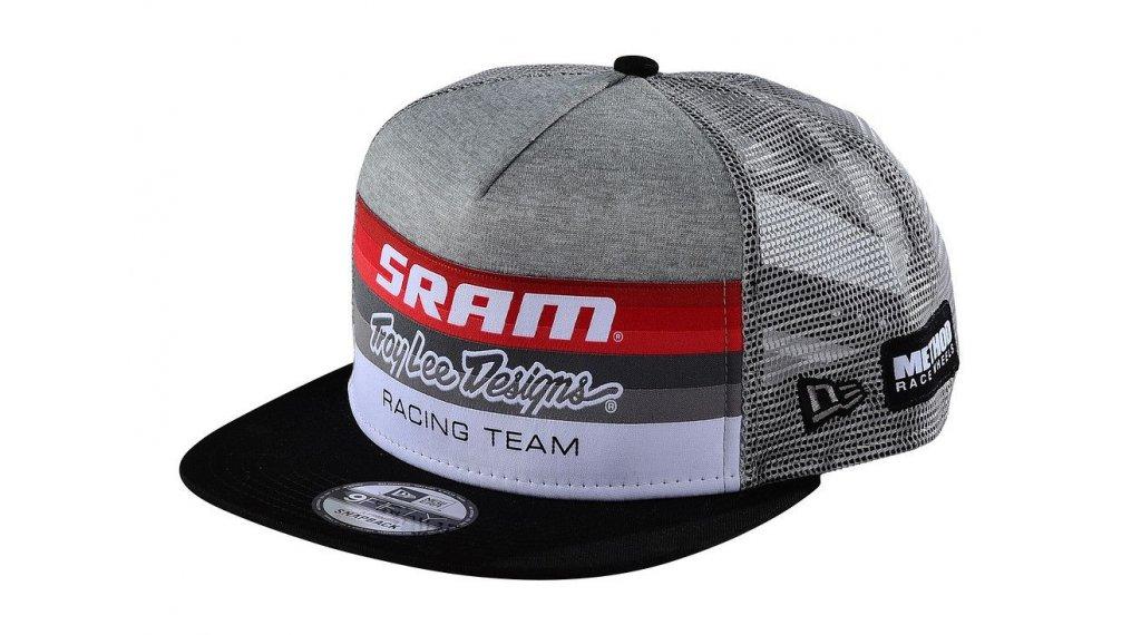 Troy Lee Designs Sram Racing Block Snapback Kappe Gr. unisize heather