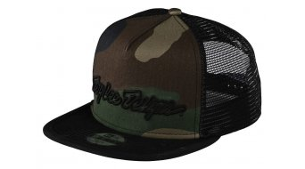 Troy Lee Designs Signature Snapback 帽 儿童 型号 均码 army camo