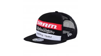 Troy Lee Designs SRAM TLD Racing Trucker-Cap cappellino uomini-cappellino black osfa mod. 2017
