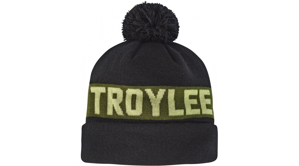 Troy Lee Designs Common Pom Beanie Gr. onesize black