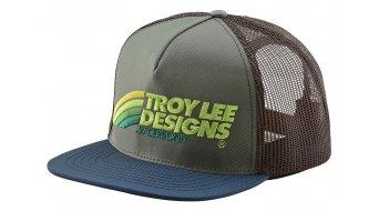 Troy Lee Designs Velo Snapback cap men unisize green/brown