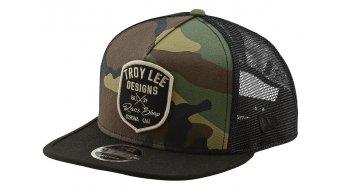 Troy Lee Designs Vintage Race Shop Snapback cap men unisize camo army