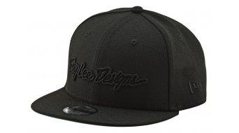 Troy Lee Designs Classic Signature Snapback cap kids unisize black
