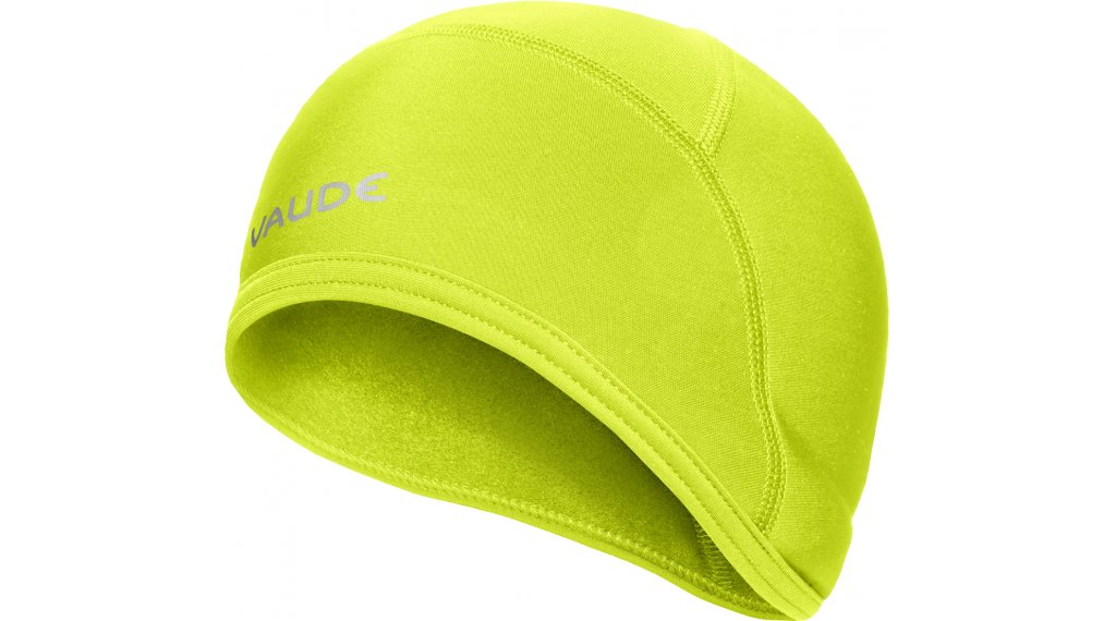 VAUDE Bike Warm Cap 盔内帽 型号 XS bright green