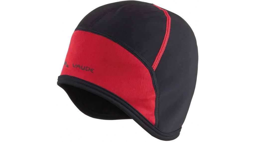 VAUDE Bike Cap Helm Unterziehmütze Gr. S black/red