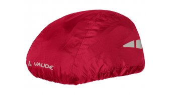 VAUDE logo helmet rain cover red