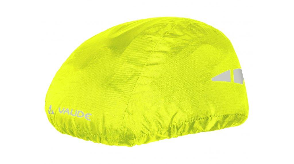 VAUDE Logo Helm Regenüberzug neon yellow
