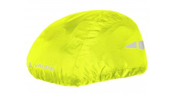 VAUDE Logo casco funda impermeable color neón amarillo