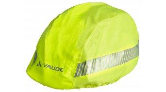 VAUDE Luminum kids helmet rain cover neon yellow