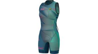 Alé Olympic TRI Hawaii Triathlon Einrészr ujjatlan női Méret S emerald- MUSTERKOLLEKTION