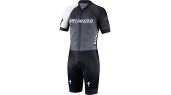 Specialized SL Air Skinsuit Rennanzug rövid ujjú férfi (Road Performance 3.0-ülepbetét) black/charcoal