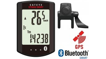 Cat Eye Strada Smart CC-RD 500B cycling computer black (incl. Speed/Cadence)