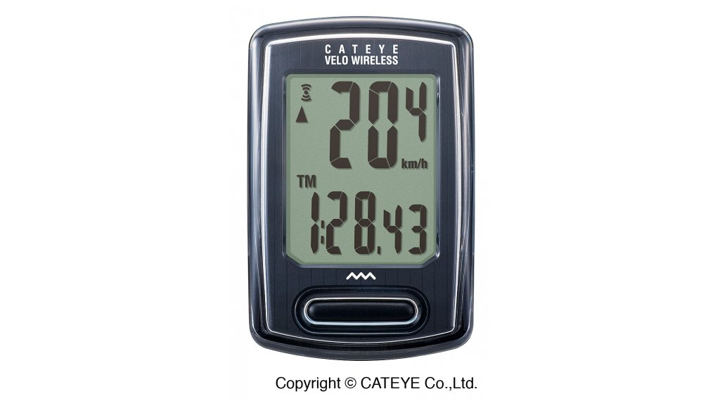Cat Eye Velo Wireless CC-VT230W Fahrradcomputer schwarz