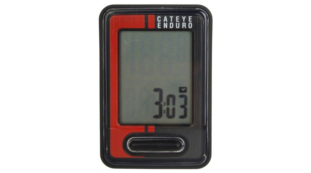 Cat Eye Enduro CC-ED400 Fahrradcomputer schwarz/rot