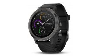 Garmin vivoactive 3 GPS Multisport-Smartwatch Edelstahl