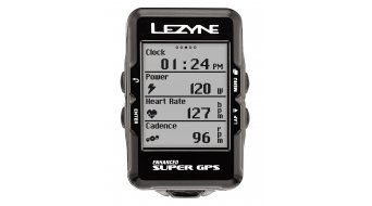 Lezyne Super GPS bike computer black