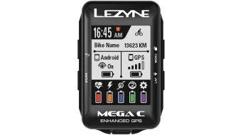 Lezyne Mega Color GPS ciclocomputador negro(-a)
