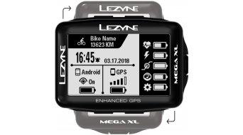 Lezyne Mega XL GPS compteur de vélo noir