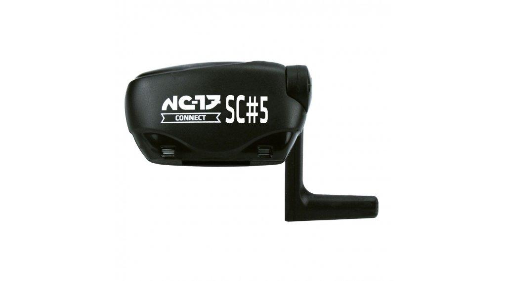 NC-17 SC5 Speed- und Trittfrequenz-Sensor (mit ANT+ und Bluetooth 4.0) schwarz