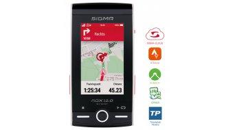 Sigma Sport ROX 12.0 Sport GPS 无线骑行电脑 BASIC white