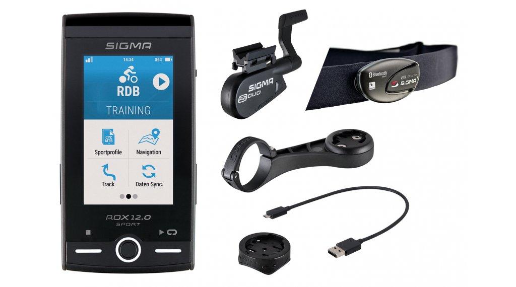Sigma Sport Computer ROX 12.0 Sport GPS Set grau