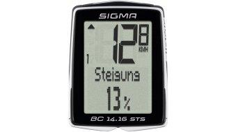Sigma Sport Fahrradcomputer BC 14.16 STS CAD kabellos