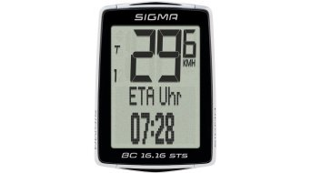 Sigma Sport ciclocomputer BC 16.16 STS CAD kabellos