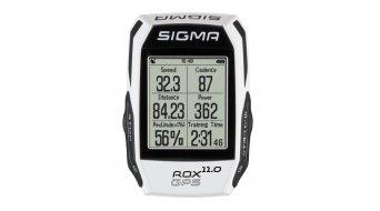 Sigma Sport Computer ROX 11.0 GPS SET white