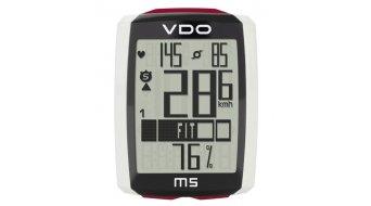 VDO M5 Fahrradcomputer weiß/schwarz
