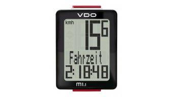 VDO M1.1 WR Fahrradcomputer (Kabel) schwarz/weiß