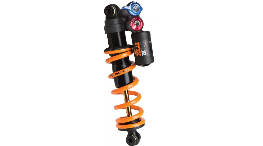 Fox DHX2 2 Pos-Adjust Factory Serie Dämpfer 230-60mm orange Logo Mod. 2020
