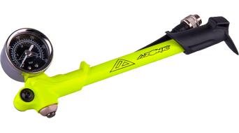 Azonic Fortress bomba de presión bomba para amortiguadores color neón amarillo