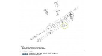 Avid Ersatzteil Juicy / BB7 Bremsbelagshalterung