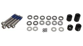 Avid adaptateur 20S PM-Spacer acier pour devant 180mm/arrière 160mm (CPS + standard/Postmount 20mm)