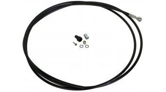 Formula latiguillo de freno 200cm latiguillo flexible de acero para RX/R1/T1/RO negro