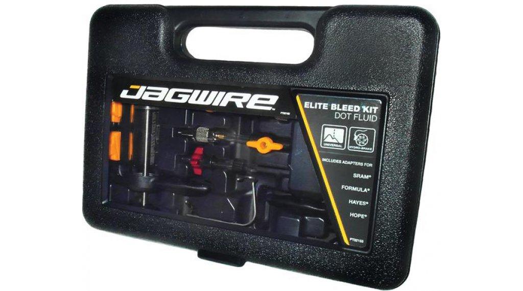 Jagwire Elite Bleed Entlüftungs-Kit 适用于 DOT (含有转接件 适用于 Avid/Formula/Hayes/Hope)
