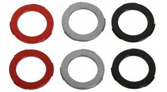 Magura Blenden- kit étrier de frein MT4/MT6/MT8 (noir, argent et rouge) (6 pièce(s))