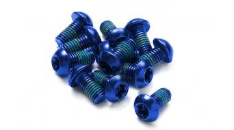 Reverse 碟刹盘螺丝 M5x10mm (12个) blue