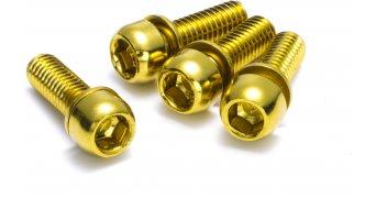 Reverse féknyeregcsavar M6x18mm (4 db) arany