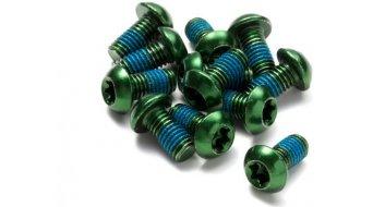 Reverse 碟刹盘螺丝 M5x10mm (12个) green