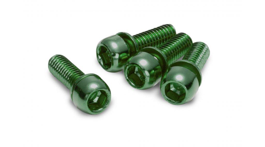 Reverse féknyeregcsavar M6x18mm (4 db) green
